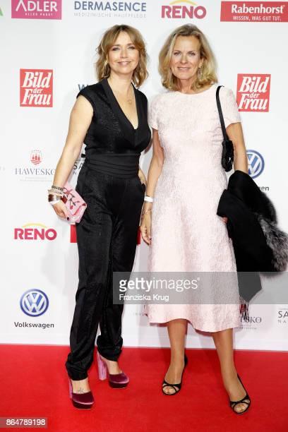 Tina Ruland and Andrea LâArronge attend the 'Goldene Bild der Frau' award at Hamburg Cruise Center on October 21 2017 in Hamburg Germany