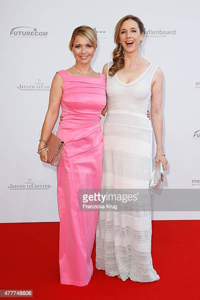 Tina Ruland and Kristin Meyer attend the German Film Award 2015 Lola at Messe Berlin on June 19 2015 in Berlin Germany