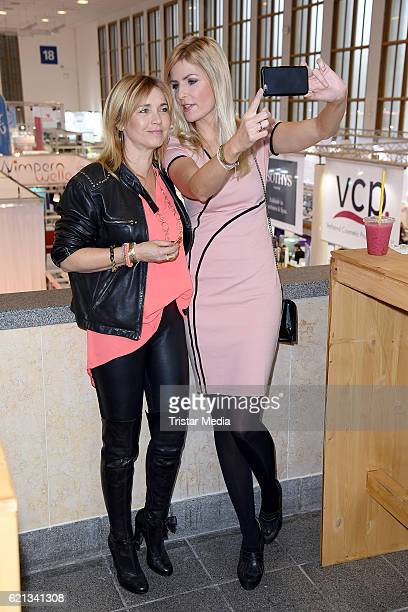Tina Ruland and Tanja Buelter attend the COSMETICA Newcomer Artist 2016 on November 5 2016 in Berlin Germany