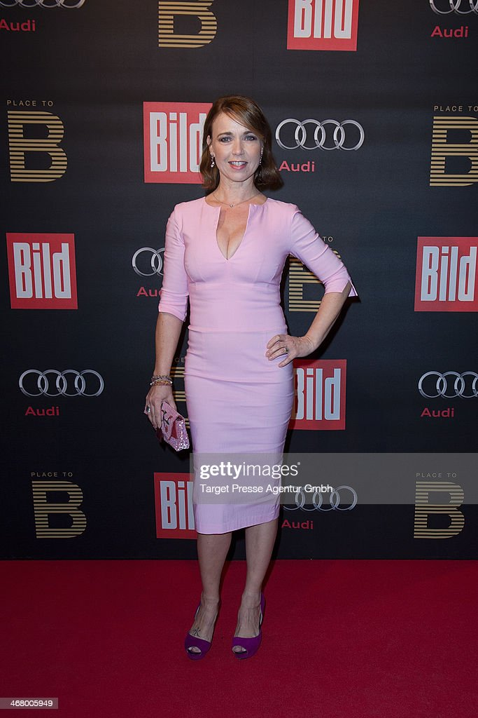 Tina Ruland attends the BILD 'Place to B' Party at Grill Royal on February 8, 2014 in Berlin, Germany.