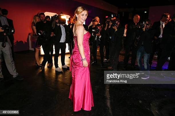 Tina Ruland attends the Douglas At Duftstars Awards 2014 at Arena Berlin on May 15 2014 in Berlin Germany