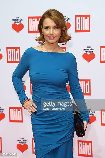 Tina Ruland attends the Ein Herz Fuer Kinder Gala 2013 at Flughafen Tempelhof on December 7 2013 in Berlin Germany