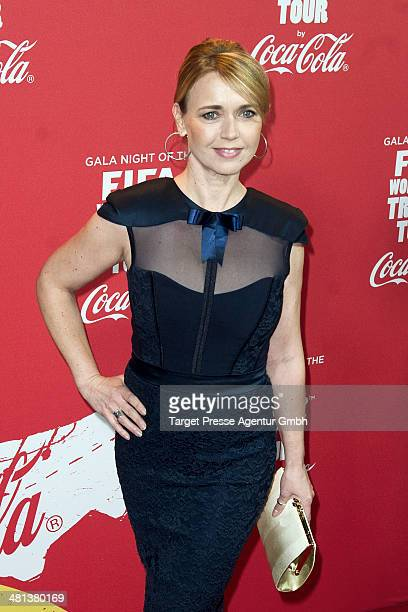 Tina Ruland attends the Gala Night of the FIFA World Cup trophy Tour on March 29 2014 in Berlin Germany