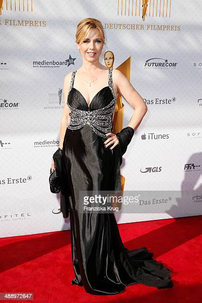 Tina Ruland attends the Lola German Film Award 2014 at Tempodrom on May 09 2014 in Berlin Germany