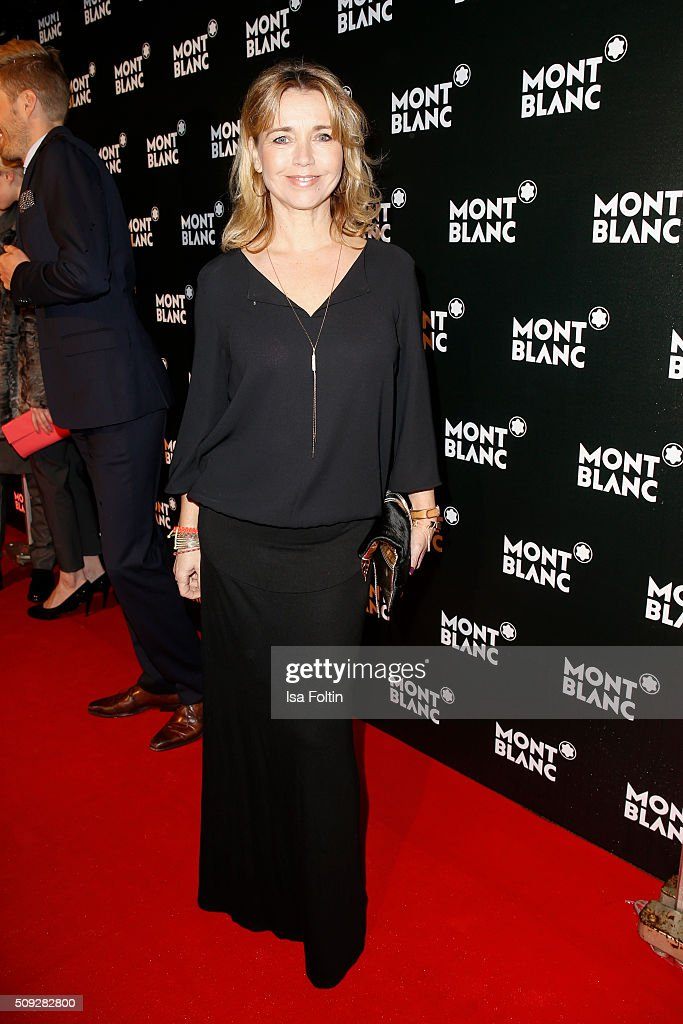 <a gi-track='captionPersonalityLinkClicked' href=/galleries/search?phrase=Tina+Ruland&family=editorial&specificpeople=2214826 ng-click='$event.stopPropagation()'>Tina Ruland</a> attends the Montblanc House Opening on February 09, 2016 in Hamburg, Germany.