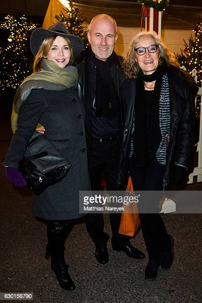 Tina Ruland Claus G Oeldorp and Eleonore Weisgerber attend the 13th Roncalli Christmas at Tempodrom on December 17 2016 in Berlin Germany