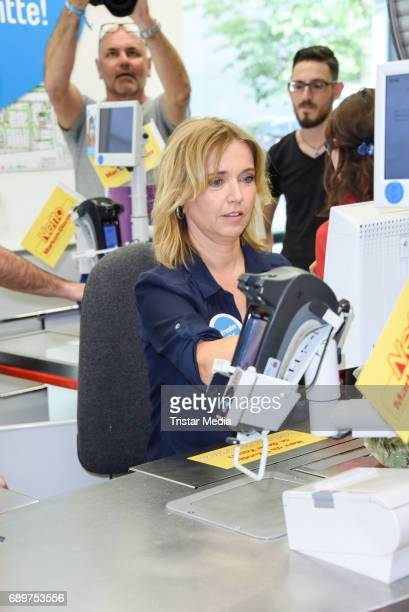 Tina Ruland during 'Deutschland rundet auf' Charity Event in Berlin on May 29 2017 in Berlin Germany
