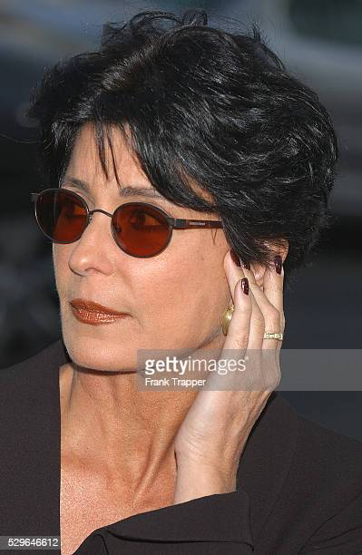 Tina Sinatra arrives at the premiere of 'The Manchurian Candidate' in Los Angeles