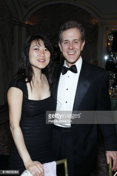 Tina Swartz and Steven Swartz attend MUSEUM Of The MOVING IMAGE Dinner In Honor Of KATIE COURIC And PHIL KENT at St Regis Hotel on May 5 2010 in New...