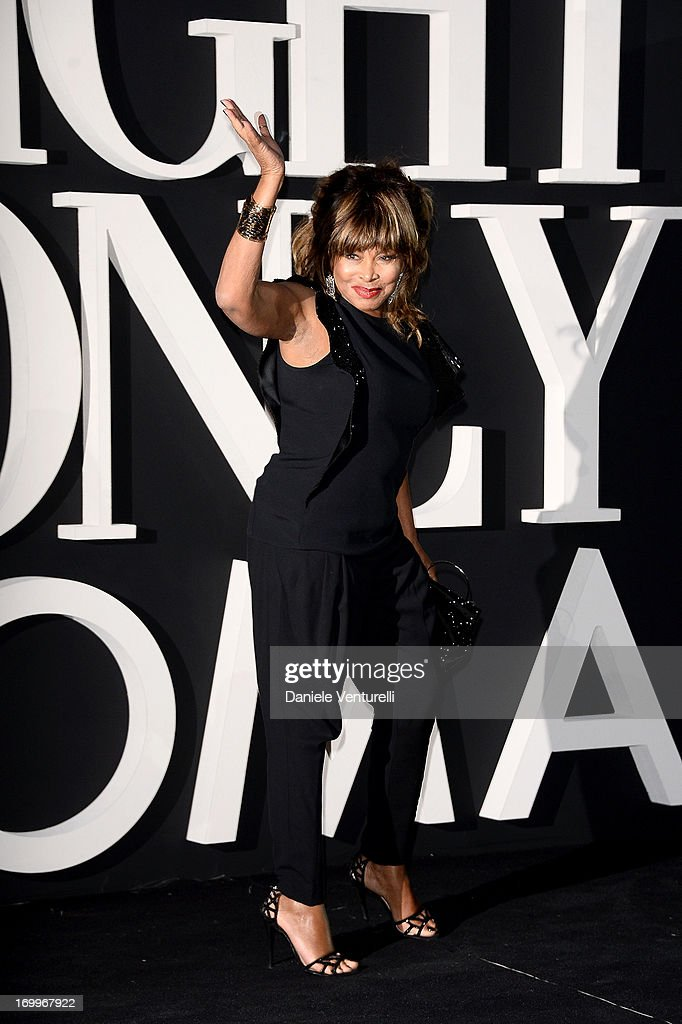 Tina Turner attends 'One Night Only' Roma on June 5, 2013 in Rome, Italy.