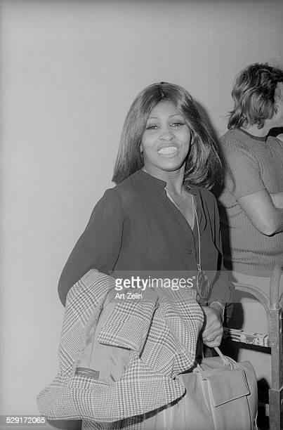 Tina Turner backstage at the Apollo circa 1970 New York