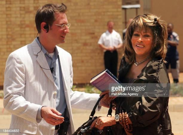 Tina Turner during Oprah Winfrey Celebrates the Opening of the Oprah Winfrey Leadership Academy for Girls January 2 2007 at Oprah Winfrey Leadership...