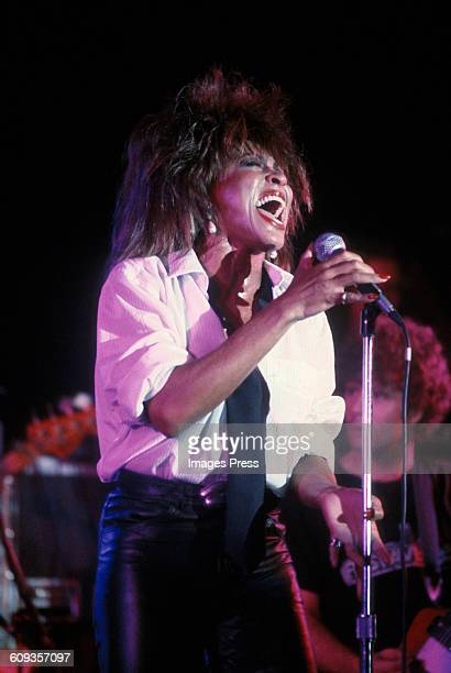 Tina Turner in concert circa 1985 in New York City
