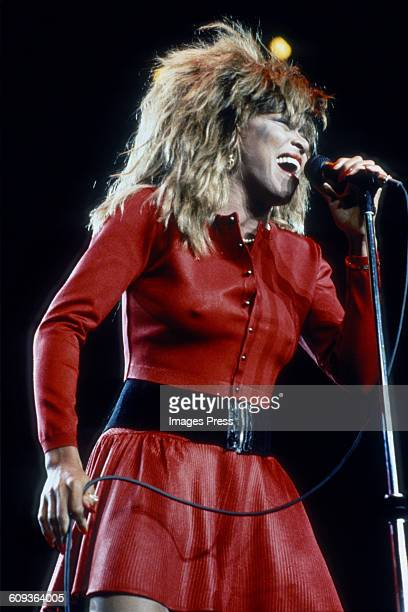 Tina Turner in concert circa 1987 in New York City
