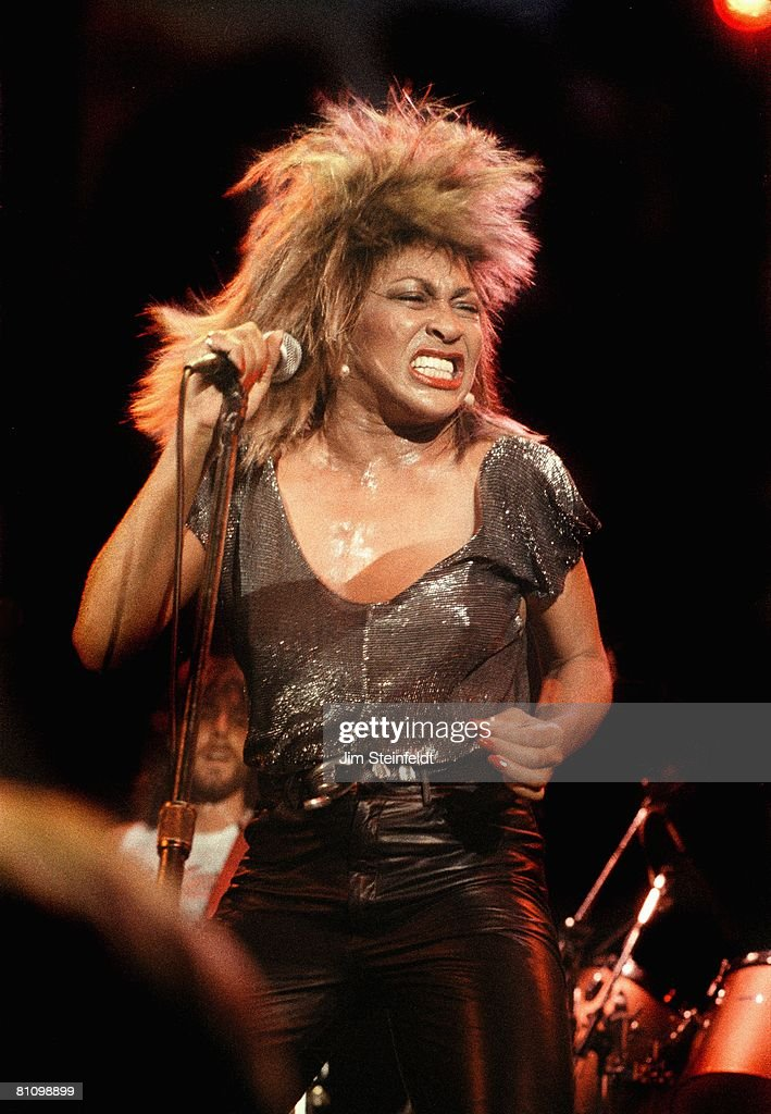 Tina Turner performs at First Avenue Nightclub in Minneapolis, Minnesota during her Private Dancer tour in 1985.