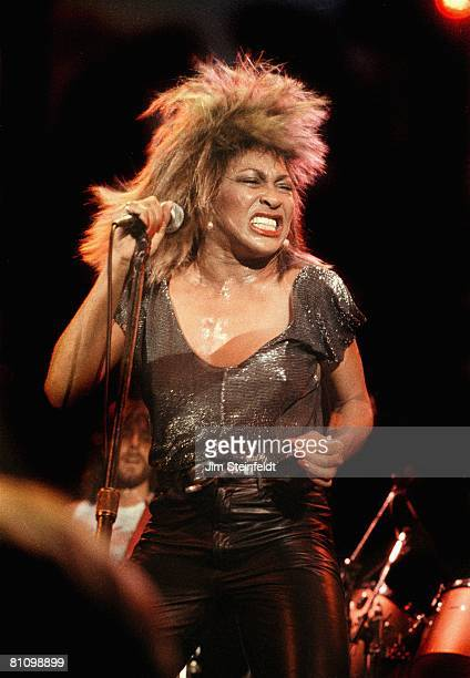 Tina Turner performs at First Avenue Nightclub in Minneapolis Minnesota during her Private Dancer tour in 1985
