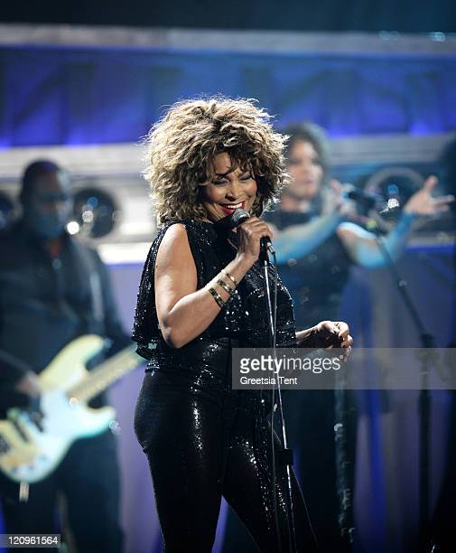 Tina Turner performs live at Gelredome on March 21 2009 in Arnhem Netherlands