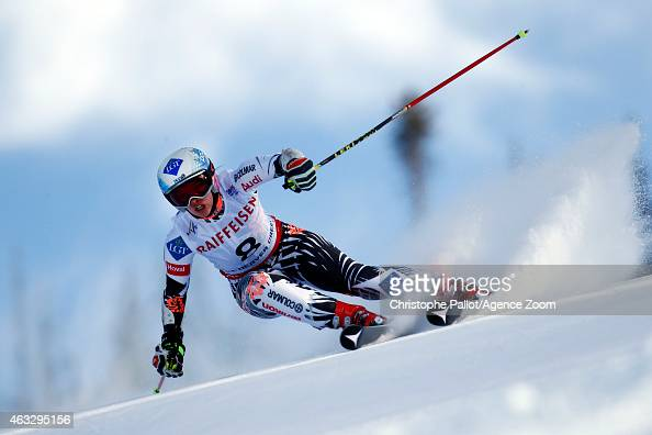 Tina Weirather of Liechtenstein competes during the FIS Alpine World Ski Championships Women's Giant Slalom on February 12 2015 in Vail/Beaver Creek...