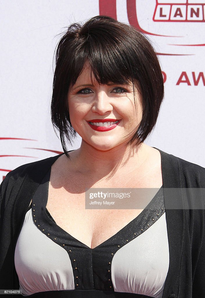 Tina Yothers arrives to The 6th Annual 'TV Land Awards' on June 8, 2008 at the Barker Hanger in Santa Monica, California.