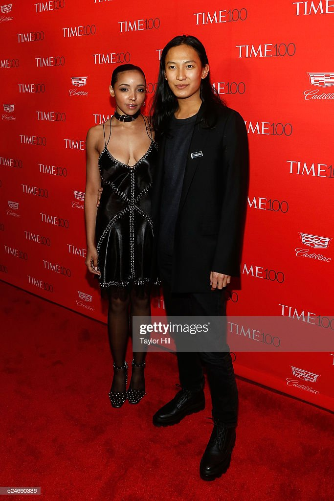 Tinashe and Alexander Wang attend the 2016 Time 100 Gala at Frederick P Rose Hall Jazz at Lincoln Center on April 26 2016 in New York City