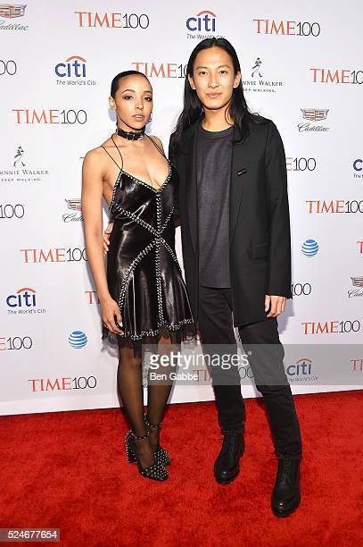 Tinashe and designer Alexander Wang attend 2016 Time 100 Gala Time's Most Influential People In The World at Jazz At Lincoln Center at the Times...