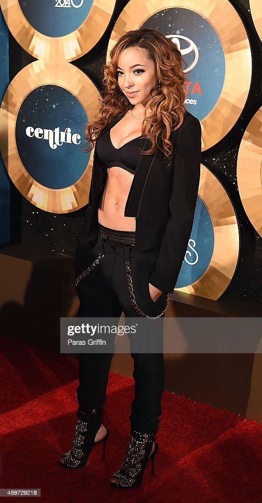 Tinashe attends the 2014 Soul Train Music Awards at the Orleans Arena on November 7, 2014 in Las Vegas, Nevada.