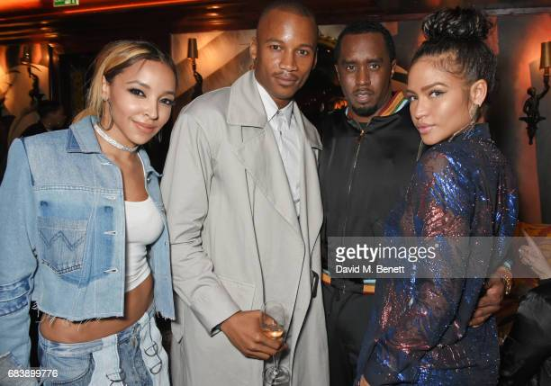 Tinashe Eric Underwood Sean 'Diddy' Combs and Cassie attend the 'Can't Stop Won't Stop A Bad Boy Story' dinner hosted by Sean 'Diddy' Combs Naomi...
