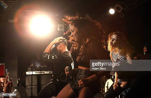 Tinashe Jorgensen Kachingwe also known as Tinashe performs during a concert at Frannz Club on March 10 2015 in Berlin Germany