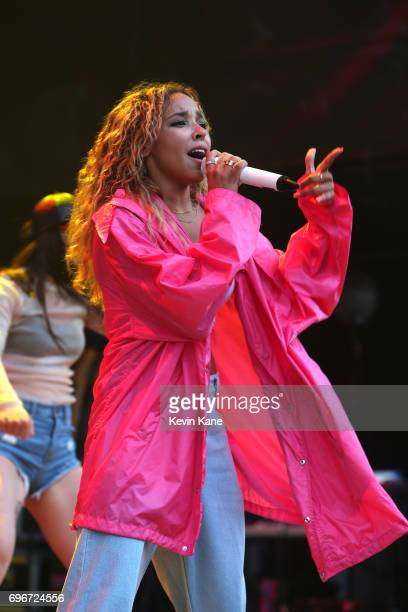 Tinashe Kachingwe performs on stage during the 2017 BLI Summer Jam at Nikon at Jones Beach Theater on June 16 2017 in Wantagh New York