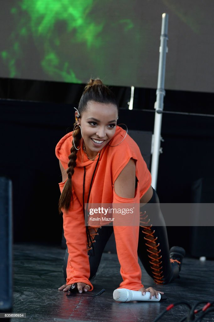Tinashe performs during Day One of 2017 Billboard Hot 100 Festival at Northwell Health at Jones Beach Theater on August 19, 2017 in Wantagh City.