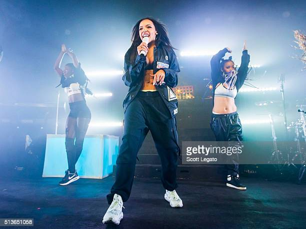 Tinashe performs in support of her 2016 Joyride World Tour at St Andrews Hall on March 3 2016 in Detroit Michigan