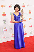 Tinawa Yang attends the ECHO Klassik 2015 at Konzerthaus on October 18 2015 in Berlin Germany