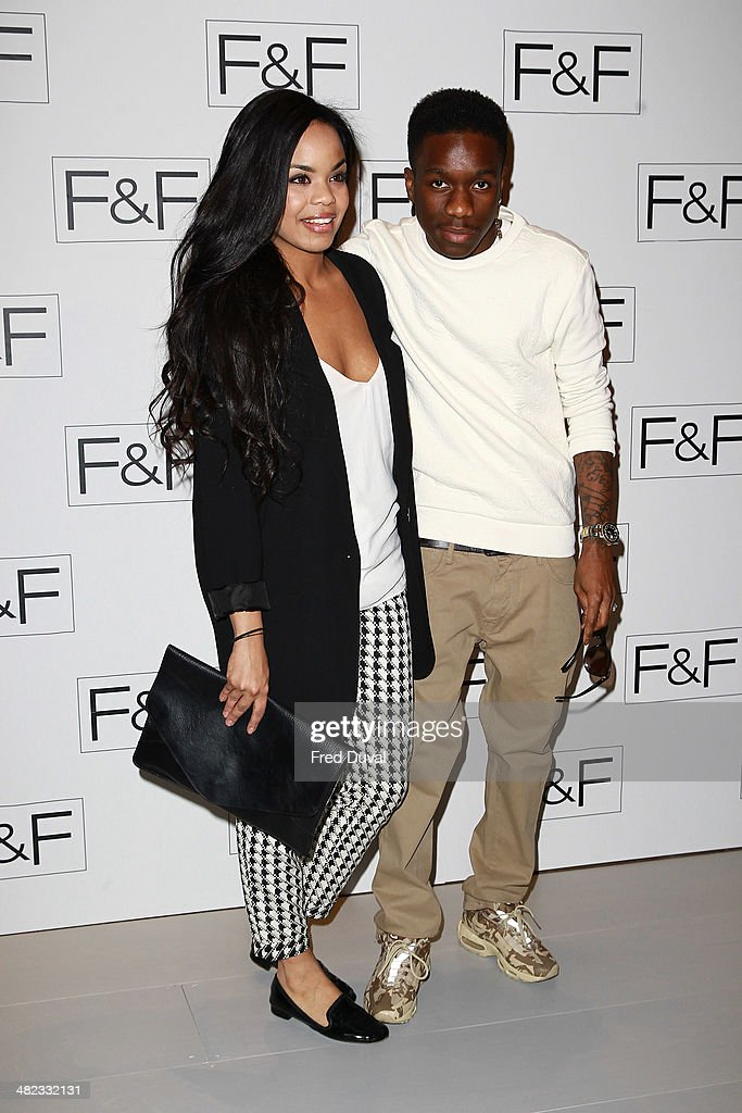 <a gi-track='captionPersonalityLinkClicked' href=/galleries/search?phrase=Tinchy+Stryder&family=editorial&specificpeople=4599337 ng-click='$event.stopPropagation()'>Tinchy Stryder</a> attends the F&F aw14 Fashion show at Somerset House on April 3, 2014 in London, England.