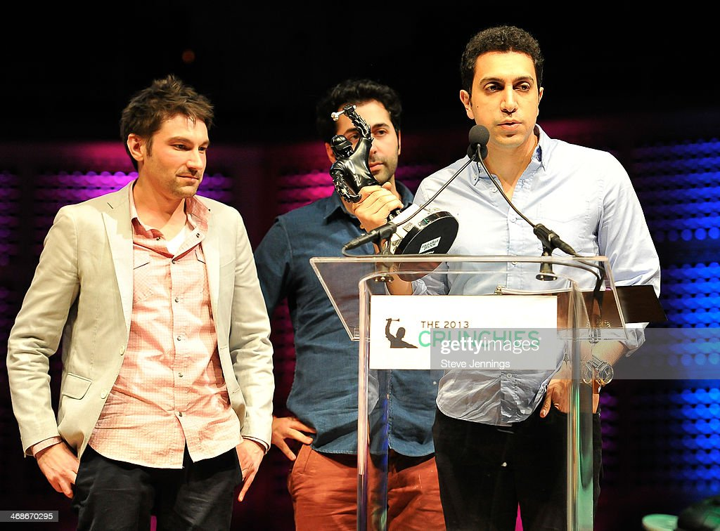 Tinder win the Best New Startup of 2013 award at the 7th Annual Crunchies Awards at Davies Symphony Hall on February 10, 2014 in San Francisco, California.