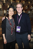 Ting Wu and Mark Levinson attend the Alfred P Sloan Foundation Reception and Prize Announcement during the 2016 Sundance Film Festival at High West...