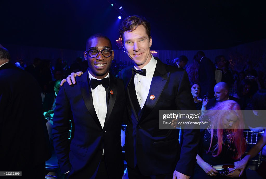<a gi-track='captionPersonalityLinkClicked' href=/galleries/search?phrase=Tinie+Tempah&family=editorial&specificpeople=6742538 ng-click='$event.stopPropagation()'>Tinie Tempah</a> and <a gi-track='captionPersonalityLinkClicked' href=/galleries/search?phrase=Benedict+Cumberbatch&family=editorial&specificpeople=2487879 ng-click='$event.stopPropagation()'>Benedict Cumberbatch</a> attend the Winter Whites Gala In Aid Of Centrepoint on November 26, 2013 in London, England.