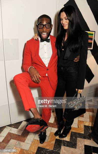 Tinie Tempah and Jessie J attend a private dinner hosted by Sir Paul Smith Tinie Tempah and GQ editor Dylan Jones to celebrate London Collections MEN...
