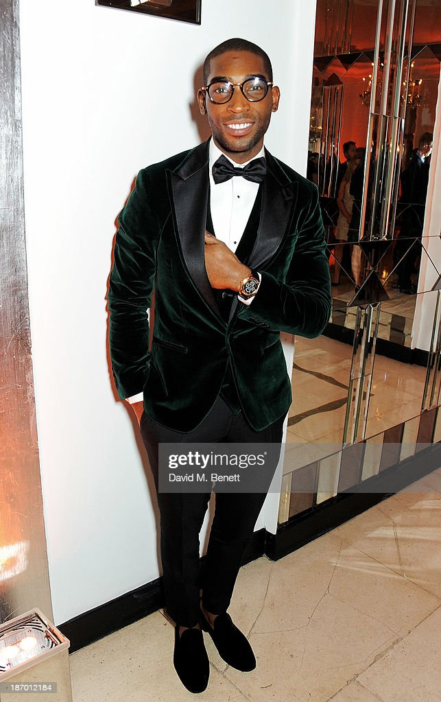 <a gi-track='captionPersonalityLinkClicked' href=/galleries/search?phrase=Tinie+Tempah&family=editorial&specificpeople=6742538 ng-click='$event.stopPropagation()'>Tinie Tempah</a> arrives at the Harper's Bazaar Women of the Year awards at Claridge's Hotel on November 5, 2013 in London, England.