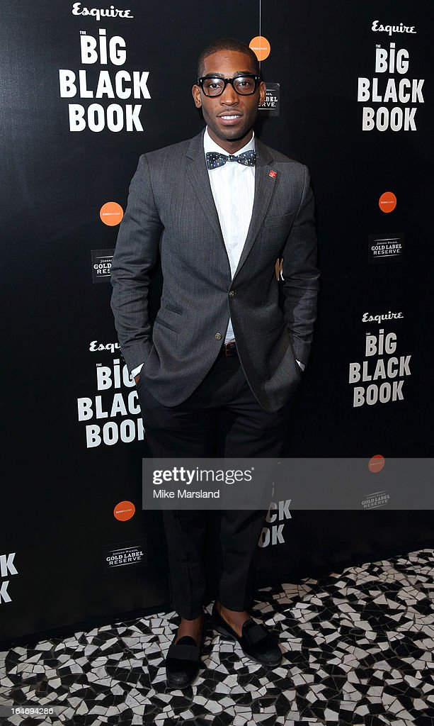 Tinie Tempah attends Esquire's Little Black Book party at Sushi Samba on March 26, 2013 in London, England.