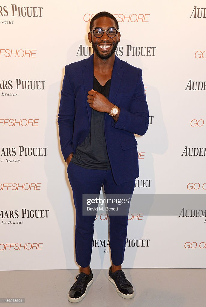 <a gi-track='captionPersonalityLinkClicked' href=/galleries/search?phrase=Tinie+Tempah&family=editorial&specificpeople=6742538 ng-click='$event.stopPropagation()'>Tinie Tempah</a> attends the Audemars Piguet Royal Oak Offshore 42mm Party at Victoria House on April 23, 2014 in London, England.
