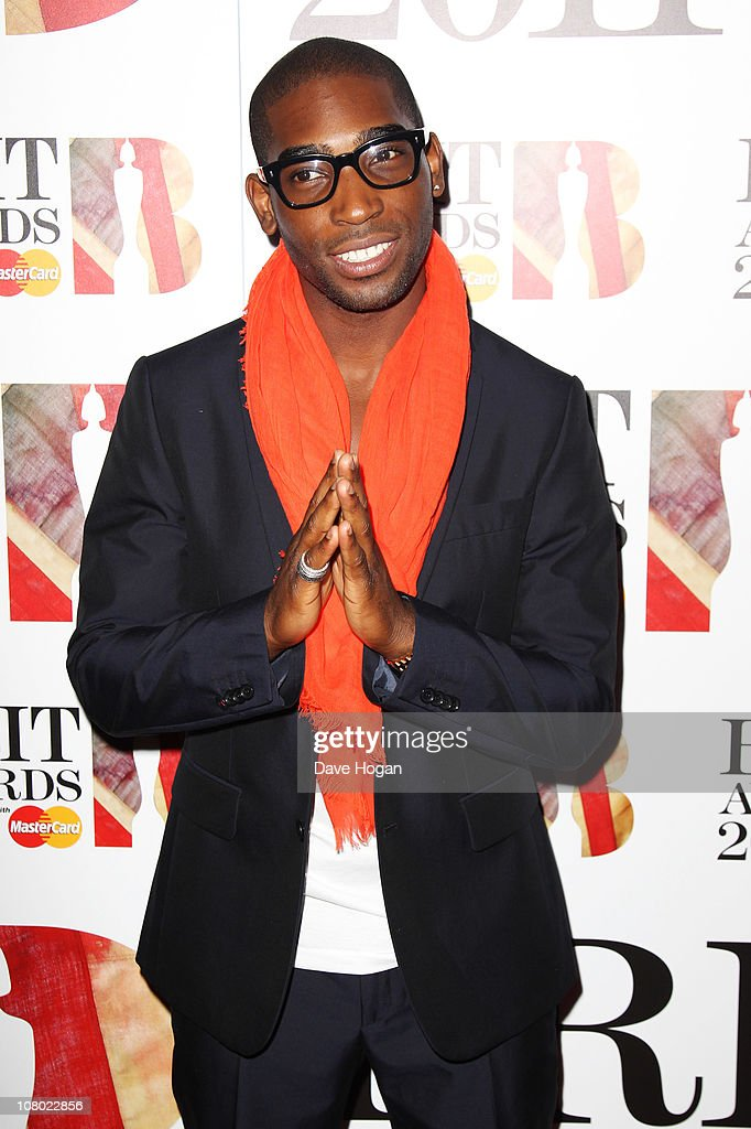 Tinie Tempah attends The Brit Awards 2011 nominations announcement held at Indigo at The O2 Arena on January 13, 2011 in London, England.