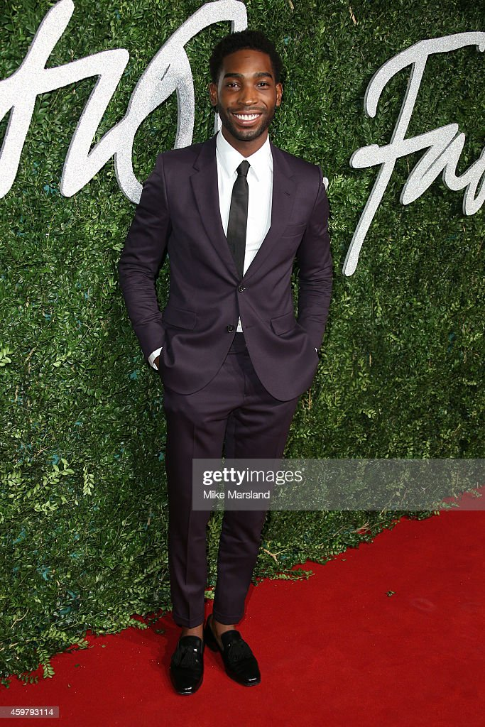 Tinie Tempah attends the British Fashion Awards at London Coliseum on December 1, 2014 in London, England.