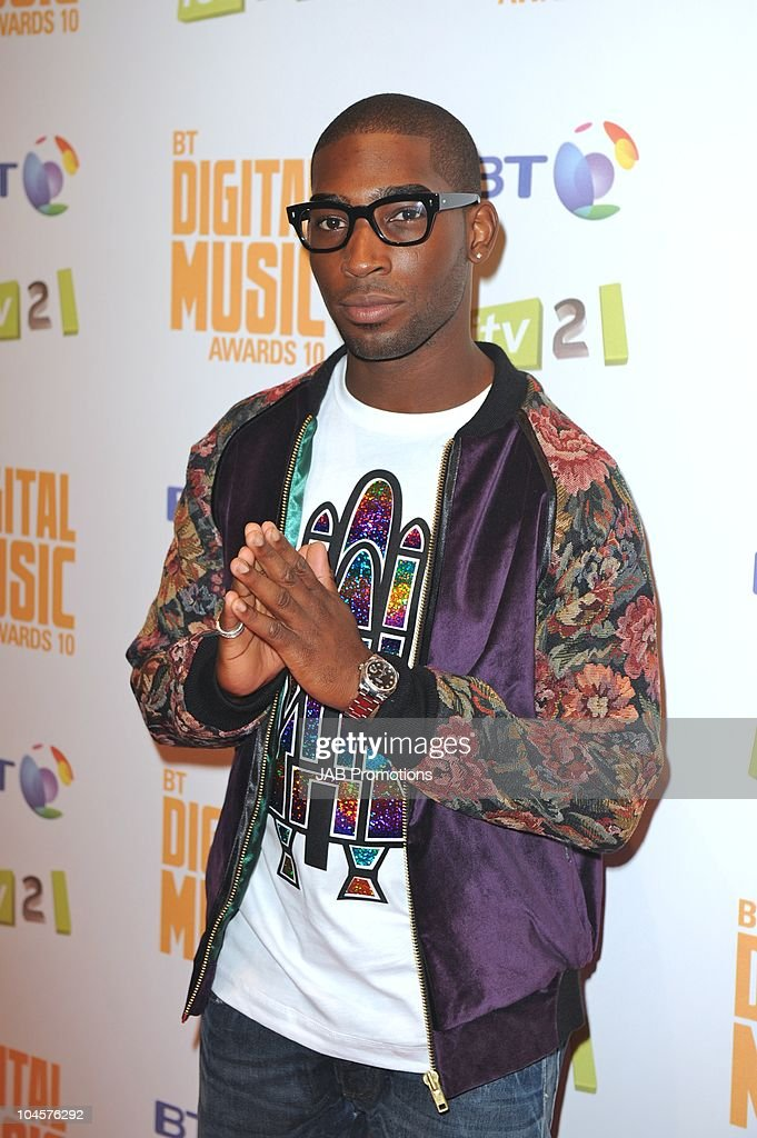 Tinie Tempah attends the 'BT Digital Music Awards' at The Roundhouse on September 30 2010 in London England