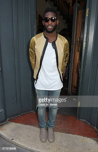 Tinie Tempah attends the COACH Men's Spring 2016 Party hosted by Stuart Vevers Tinie Tempah and Dree Hemingway at The Lady Ottoline on June 13 2015...