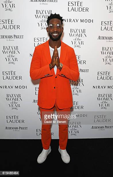 Tinie Tempah attends the Harper's Bazaar Women of the Year Awards 2016 at Claridge's Hotel on October 31 2016 in London England