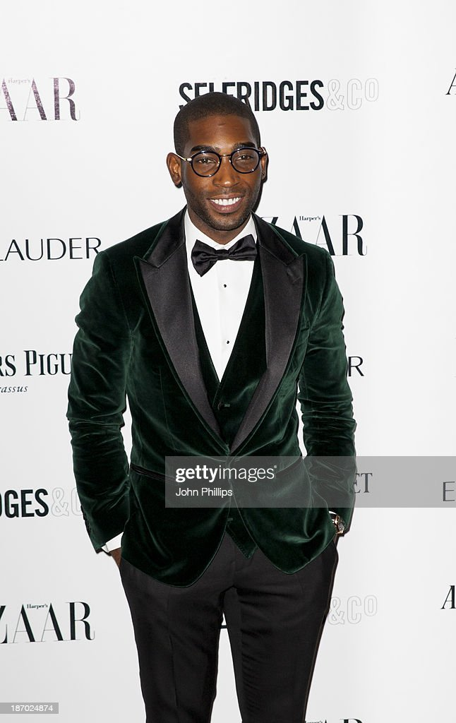 <a gi-track='captionPersonalityLinkClicked' href=/galleries/search?phrase=Tinie+Tempah&family=editorial&specificpeople=6742538 ng-click='$event.stopPropagation()'>Tinie Tempah</a> attends the Harpers Bazaar Women of the Year awards at Claridge's Hotel on November 5, 2013 in London, England.