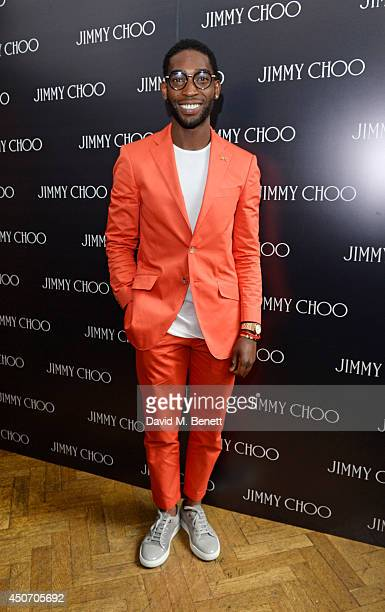 Tinie Tempah attends the Jimmy Choo Men's Show Spring Summer 2015 during London Collections Men on June 16 2014 in London England