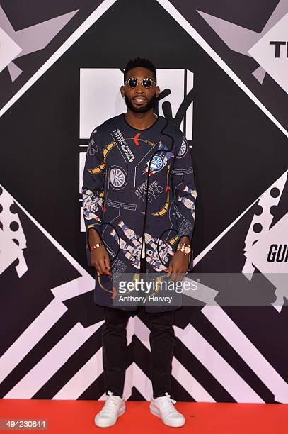 Tinie Tempah attends the MTV EMA's 2015 at the Mediolanum Forum on October 25 2015 in Milan Italy