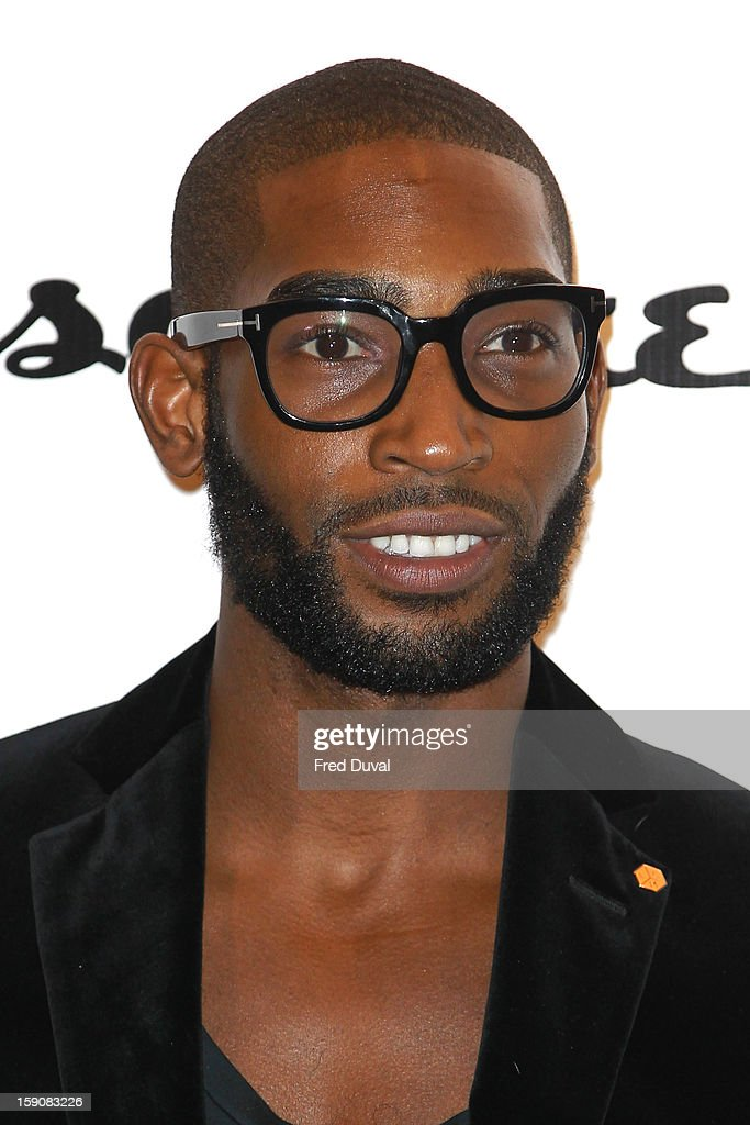 Tinie Tempah attends the Tommy Hilfiger & Esquire event at the London Collections: MEN AW13 at on January 7, 2013 in London, England.