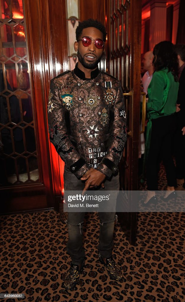 Tinie Tempah attends The Warner Music & Ciroc Brit Awards After Party on February 22, 2017 in London, England.
